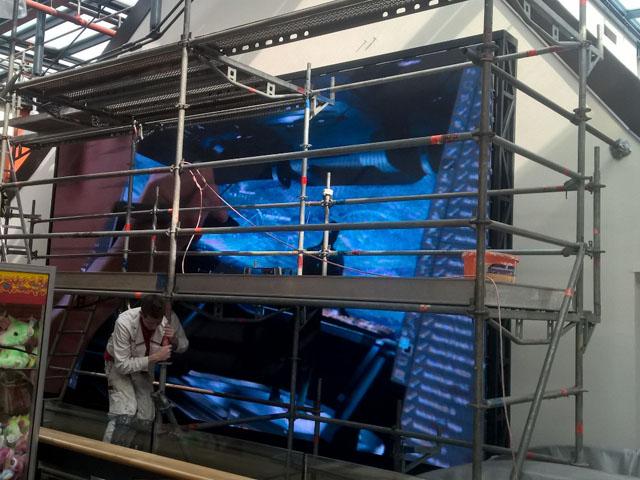 Weinwurm LED Videowall LCS Leoben
