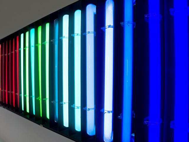 Neon Glasbläserei